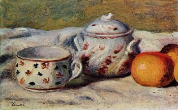 Still Life with Cup and Sugar Bowl