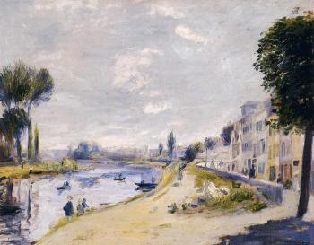 The Banks of the Seine, Bougival
