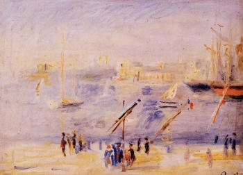 The Old Port of Marseille, People and Boats