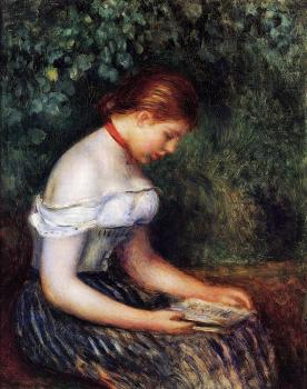 The Reader, Seated Young Woman