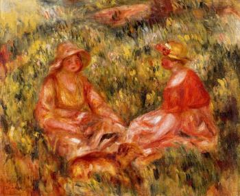 Two Women in the Grass