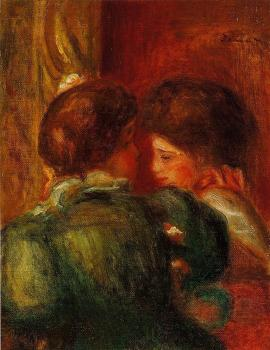 Two Women's Heads, The Loge