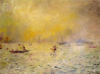 View of Venice, Fog