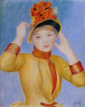 Pierre Auguste Renoir : Yellow Dress