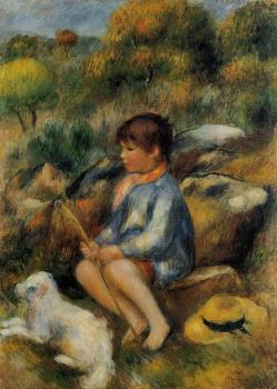 Young Boy at the Stream