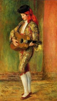 Young Guitarist Standing