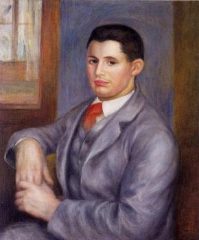 Young Man in a Red Tie