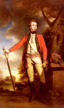 Portrait Of George Townshend, Lord Ferrers