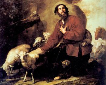 Jusepe De Ribera : Jacob and Laban's Flock