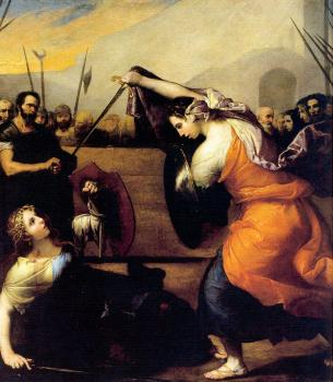 Jusepe De Ribera : Duel of the Women