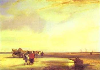 Richard Parkes Bonington : Boulogne Sands