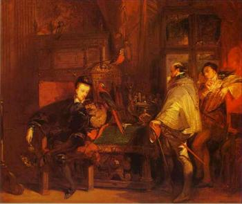 Richard Parkes Bonington : Henri III and Don Juan of Austria