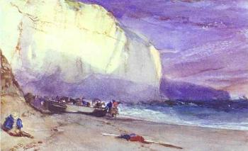 Richard Parkes Bonington : The Undercliff