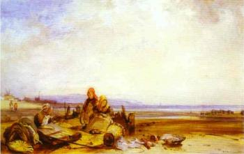 Richard Parkes Bonington : Beach in Normandy