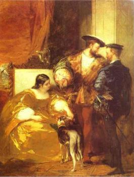 Richard Parkes Bonington : Francis I and the Duchess of Etampes