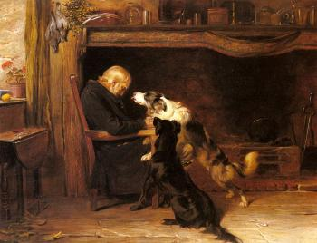 Briton Riviere : The Long Sleep