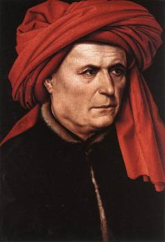 Robert Campin : Portrait of a Man