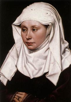 Robert Campin : Portrait of a Woman