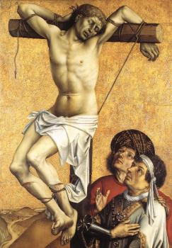 Robert Campin : The Crucified Thief