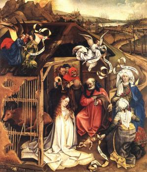 Robert Campin : The Nativity