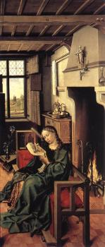 Robert Campin : The Werl Altarpiece, right wing