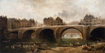 Demolition of the Houses on the Pont Notre-Dame in 1786