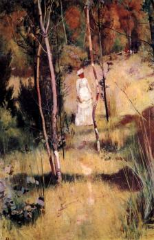 Tom Roberts : A Summer Morning Tiff