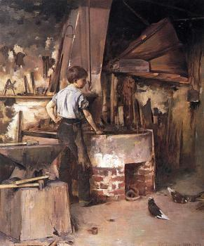 Theodore Robinson : The Forge