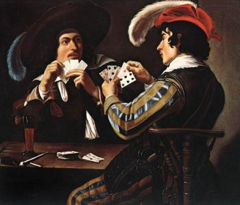 Theodoor Rombouts : The Card Players II