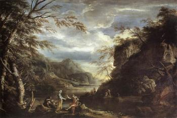 River Landscape with Apollo and the Cumean Sibyl