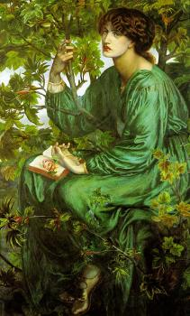 Dante Gabriel Rossetti : The Day Dream