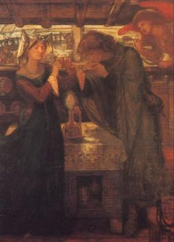 Tristram and Isolde Drinking the Love Potion