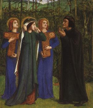 The Meeting of Dante and Beatrice in Paradise
