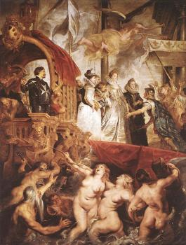 The Landing of Marie de' Medici at Marseilles