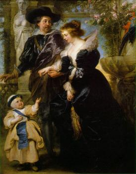 Rubens, his wife Helena Fourment, and their son Peter Paul II