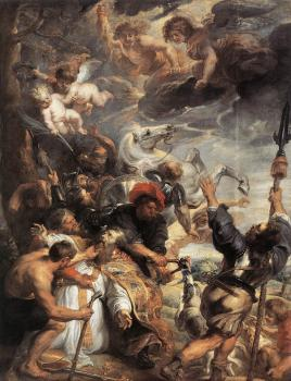 The Martyrdom of St Livinus