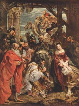Peter Paul Rubens : The Adoration of the Magi