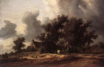 Salomon Van Ruysdael : After the Rain
