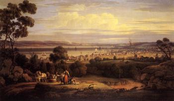 Robert Salmon : View of Greenock, Scotland