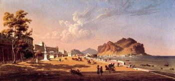 Robert Salmon : View of Palermo