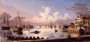 Robert Salmon : View of Venice