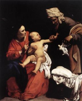 Madonna and Child with St Anne