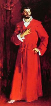John Singer Sargent : Dr Pozzi at Home