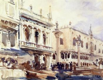 The Piazzetta and the Doge's Palace