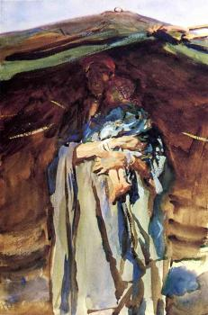 John Singer Sargent : Bedouin Mother