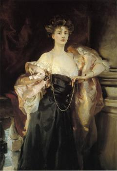 John Singer Sargent : Portrait of Lady Helen Vincent, Viscountess d'Abernon