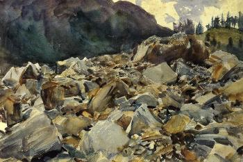 Purtud, Alpine Scene and Boulders