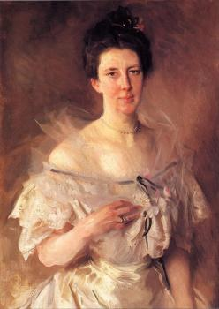 John Singer Sargent : Mrs.Gardiner Greene Hammond,Esther Fiske Hammond
