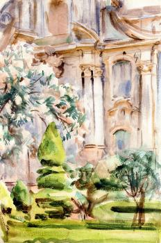 John Singer Sargent : A Palace and Gardens, Spain