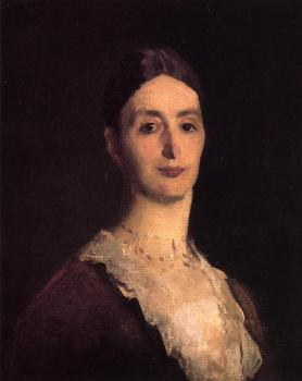 John Singer Sargent : Portrait of Frances Mary Vickers